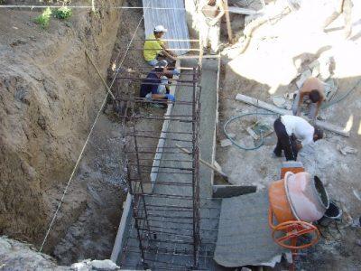 Заливка фундамента - Узнай о ремонте
