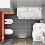 Планировка ванной 4