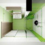 Планировка ванной 2