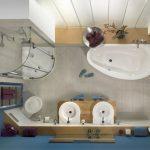Планировка ванной 1