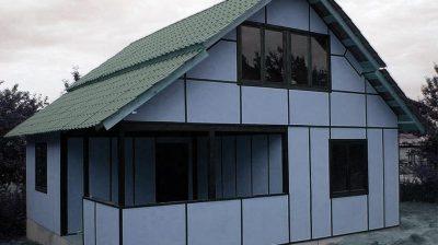 Дом из теплых панелей