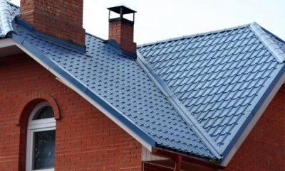Синяя крыша